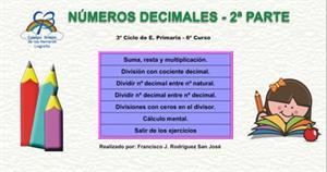Números decimales - 2ª Parte