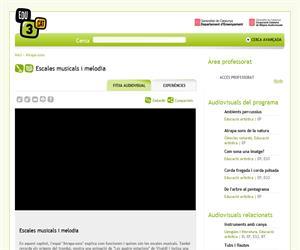 Escales musicals i melodia (Edu3.cat)