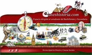 clasesdehistoria.com:un viaje por la historia con actividades y ejercicios para alumnos de Bachiller y Secundaria
