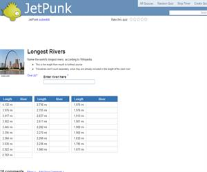 Longest Rivers