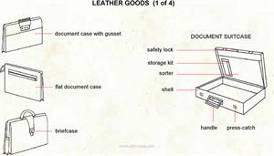 Leather goods  (Visual Dictionary)