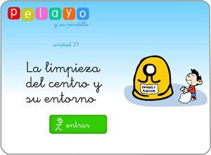 Pelayo y su pandilla. La limpieza del centro y su entorno (educastur.es)