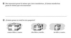 Medidas de capacidad y peso (II)