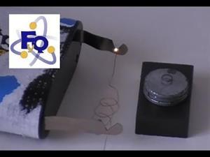 Experimento de Física: El motor eléctrico más simple del mundo