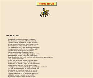 Poema del Cid, lectura comprensiva interactiva