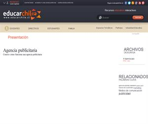 Agencia publicitaria (Educarchile)