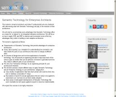 Semantic Technology for Enterprise Architects