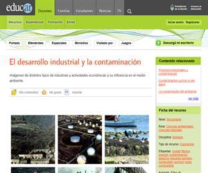 El desarrollo industrial y la contaminación