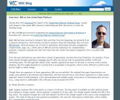 Interview: IBM on the Linked Data Platform
