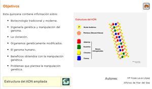 La ingeniería genética. Biología y geología para 4º de Secundaria