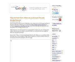 Google lanza Sidewiki
