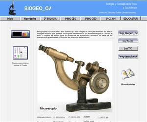BIGEO_OV, Biología y Geología de la ESO y 2º de Bachillerato (educastur)
