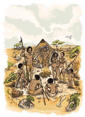 Busca información sobre los Homo Sapiens