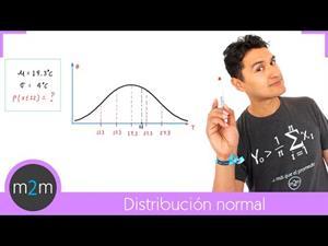 Calcular la probabilidad de una distribución normal. Problema 1