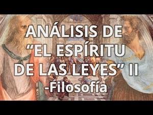 Montesquieu. El Espíritu de las Leyes II