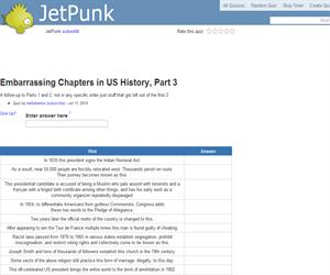Embarrassing Chapters in US History, Part 3