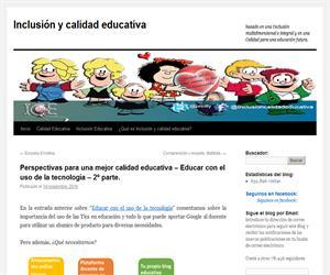 Perspectivas para una mejor calidad educativa – Educar con el uso de la tecnología – 2º parte.