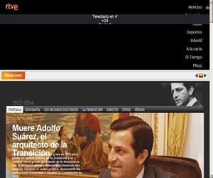 Muere Adolfo Suárez, el arquitecto de la Transición (RTVE.es)