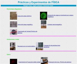 enciga.org: Prácticas y Experimentos de FÍSICA
