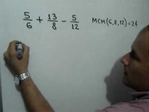 Suma y resta de fracciones heterogéneas. Parte 2 de 2 (JulioProfe)