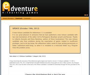 e-Adventure. Juegos educativos, simulaciones para procesos educativos y Entornos Virtuales de Aprendizaje (VLE)