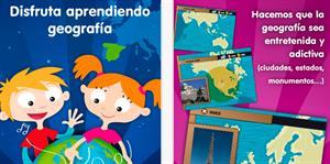 Planeta Geo: juegos educativos para aprender geografia para niños y adolescentes (app gratuita)
