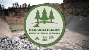 Rehabilitación en explotacións de áridos