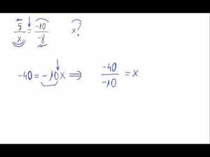 fracciones equivalentes e incógnitas