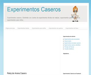 Experimentos Caseros para Niños: Reloj de Arena