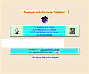 Cuestionarios de Orientación Profesional