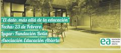 Didactalia participa en el encuentro 'El dato, más allá de la educación'