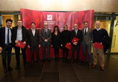 """GNOSS reconocida por la Universidad de La Rioja en su acto """"1000 gracias"""". 4/3/2014"""