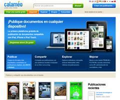 Calaméo: publicación digital