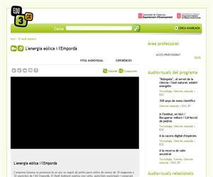 L'energia eòlica i l'Empordà (Edu3.cat)