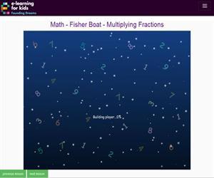 Multiplicar fracciones. (e-learningforkids.org)