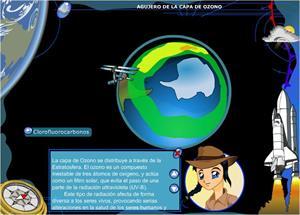Agujero de la capa de ozono. 3º ciclo de Primaria
