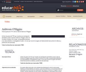 Ambrosio O'Higgins (Educarchile)