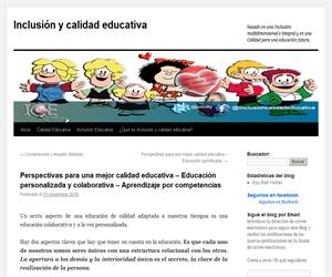 Perspectivas para una mejor calidad educativa – Educación personalizada y colaborativa – Aprendizaje por competencias