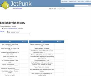 English/British History
