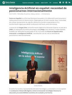 """""""Inteligencia Artificial en español: la necesidad de posicionarnos internacionalmente"""", según Andrés Pedreño fundador de 1Millionbot"""