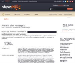 Proyecto piure Antofagasta (Educarchile)