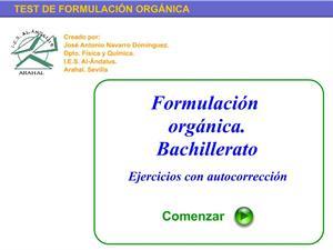 Test de Formulación Orgánica