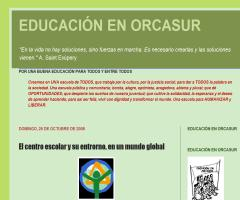 El centro escolar y su entorno, en un mundo global | Educación en Orcasur