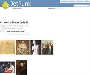 Art Works Picture Quiz 3