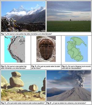 La historia de la Tierra y de la vida. Actividades