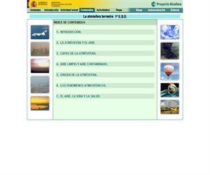 La atmósfera terrestre (Proyecto Biosfera)