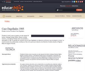 Caso Degollados 1985 (Educarchile)
