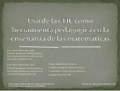 Uso De Las Tic En La Enseñanza De Las Matematicas