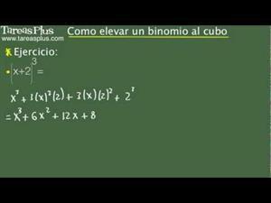 Binomio al cubo. Problema 4 de 15 (Tareas Plus)