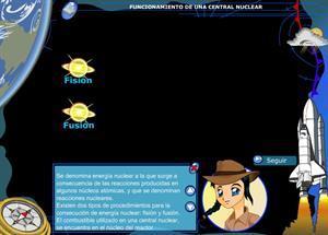 Funcionamiento de una central nuclear. 3º ciclo de Educación Primaria